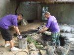 volunteer muck shovel