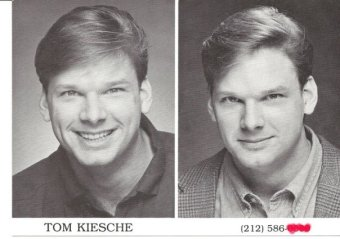 One of my very first postcards, early headshots...
