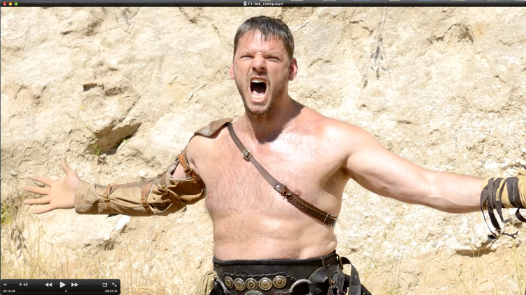 Image pulled from BEHIND THE BLOOD featurette, available at WarriorShowdown.com
