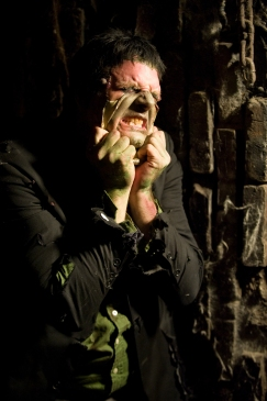 Frankenstein Peeling face