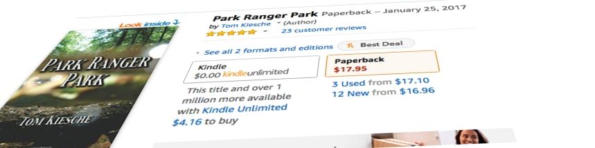 Park Ranger Park BANNER tilt for BLACKLIST