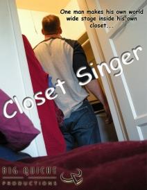 poster Closet Singer 02