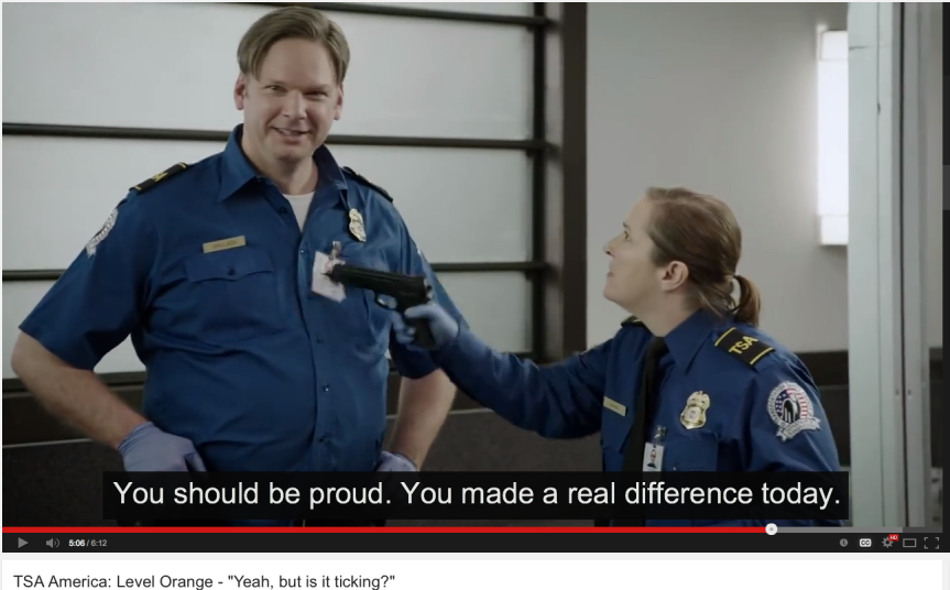TSA AMERICA (VIDEO) – FREE FRIDAY FUNNY