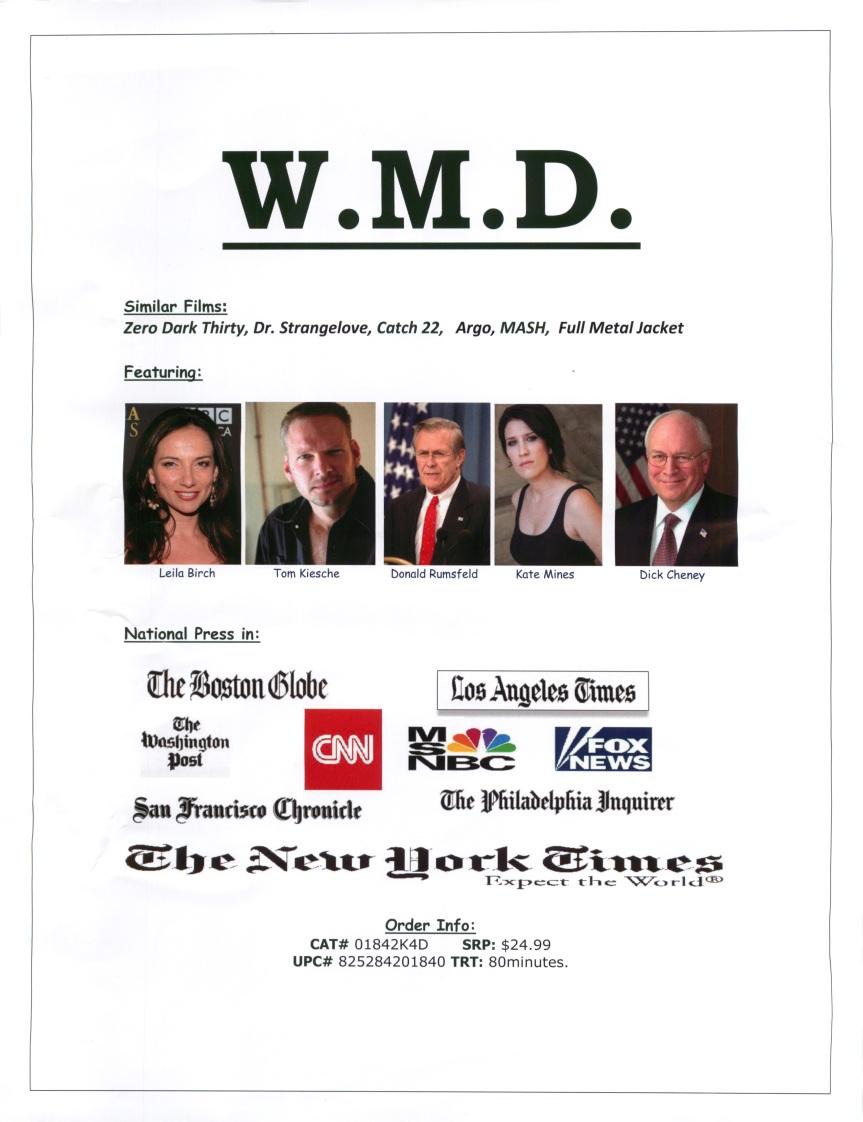 Back WMD poster DVD