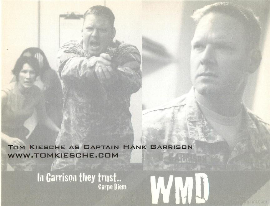 Postcard WMD back