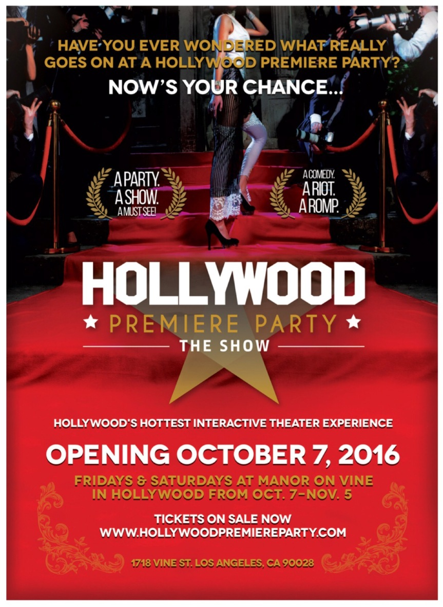 Hollywood Premiere Party – growing and developing